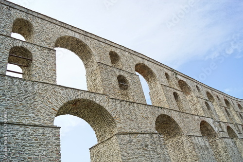 Valokuva aqueduct of kavala