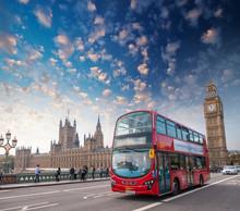 London, UK. City Street Scene