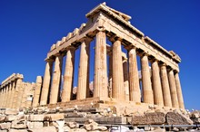 The Ancient Parthenon, The Acr...