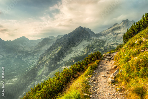 path in mountains Poster