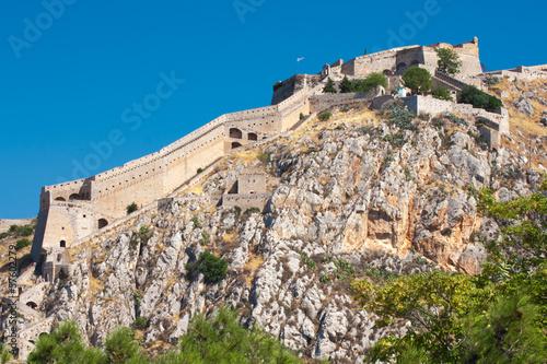 Tablou Canvas Ancient Palamidi fortress at Nafplio, Greece