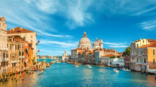 Poster de jardin Venise Gorgeous view of the Grand Canal, Venice, Italy