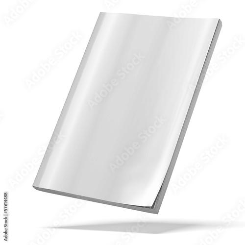 blank magazine Poster