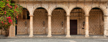 Historic Building With Arches ...