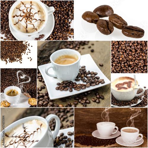 Kaffee-Genuss: Collage