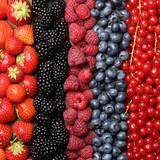 Frische Beeren Früchte Hintergrund