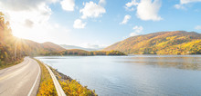 Panorama Of Beautiful Autumn V...