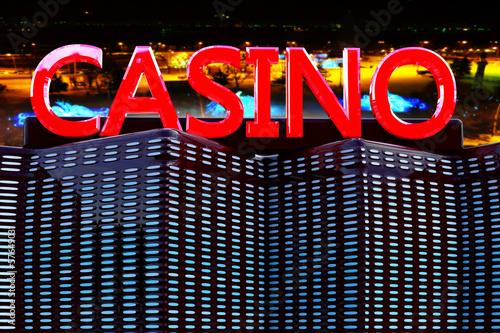 Casino - 3d Rendering Poster