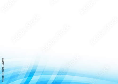 Fotobehang - Colorful wave abstract background