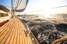 Yacht, Sailing Regatta. Luxury...