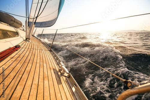 Yacht, sailing regatta. Luxury yachts.