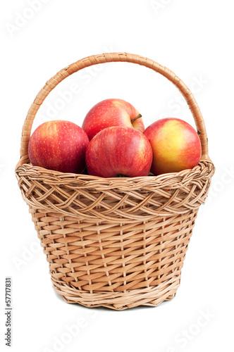Slika na platnu basket with apples