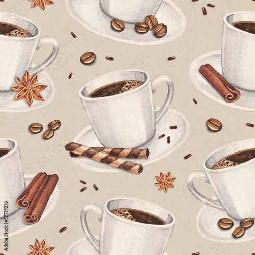 akwarela-ilustracje-filizanki-kawy-bezszwowy-wzor