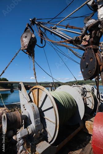 Winch for lifting the trawl © Stanislav Komogorov