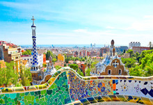 The Famous Summer Park Guell O...
