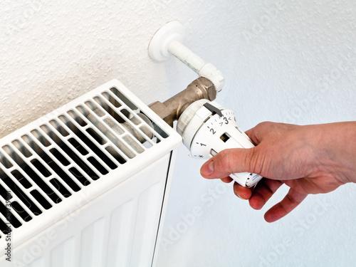 Photo  control of home temperature