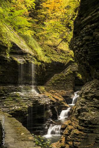 Photo  Watkins Glen Waterfalls