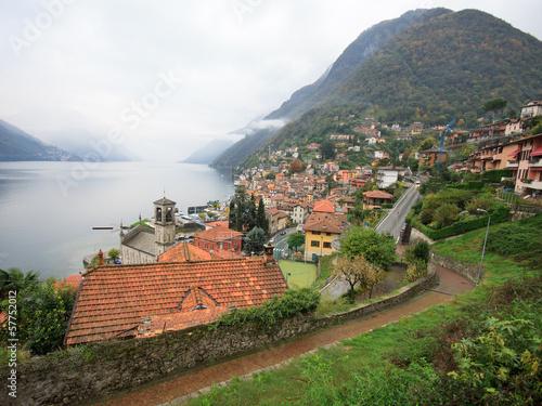 Argegno (lago di Como) Canvas Print