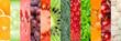 Leinwanddruck Bild - Healthy food backgrounds