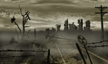 The Illustration On The Theme Of The Apocalypse