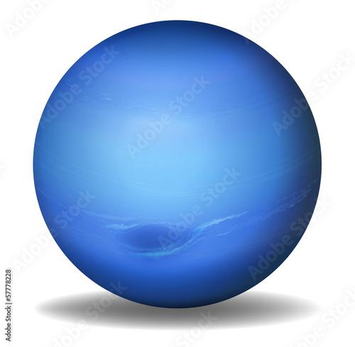 Valokuvatapetti Planet Neptune