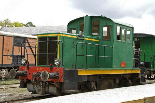 Train touristique des Landes;Marquéze;  Aquitaine; Sabres; 40