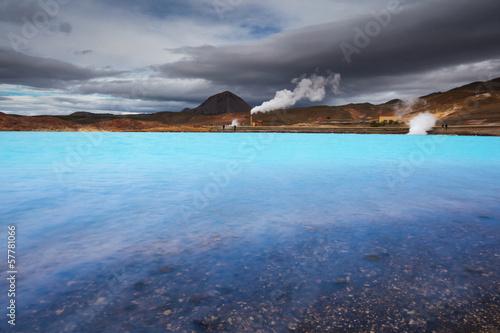 Papiers peints Lieu d Europe Geothermal powerplant Bjarnarflag