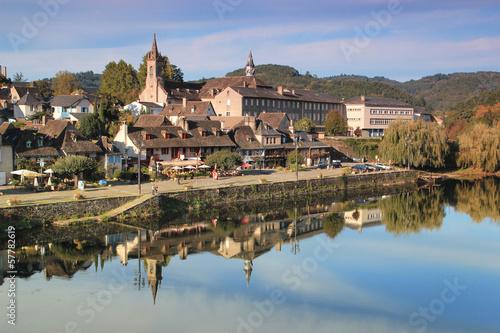 Poster Channel Argentat.(Corrèze)