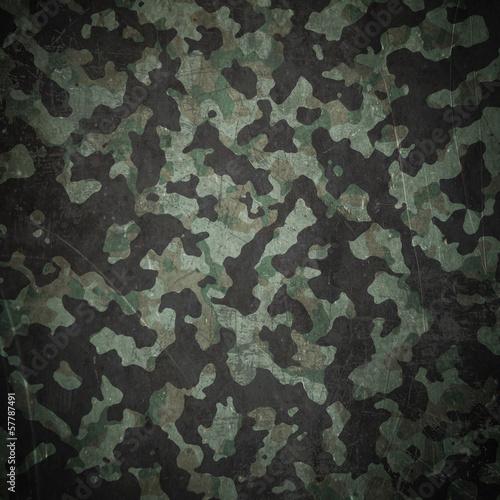 Fotografía  Grunge military camouflage background
