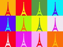 Warhol Pop Art Tower