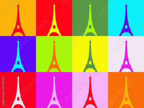 Fotografía Warhol pop art tower