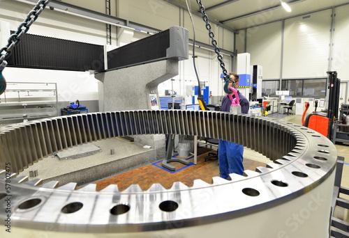Poster Industrial geb. Industriehalle Maschinenbau // industry engineering