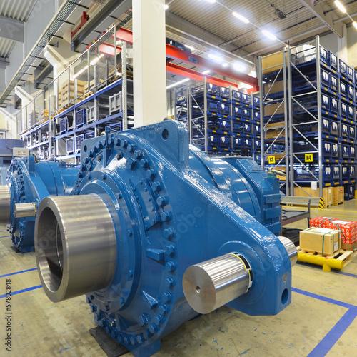 Staande foto Industrial geb. Maschinenbau // Engineering
