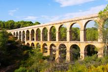 Aqueduct De Les Ferreres In Tarragona