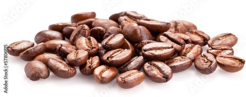 Papiers peints Café en grains Roasted coffee beans.