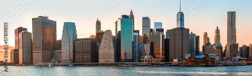 Foto op Aluminium New York New York City skyline panorama