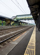 Railway track station in Japan2
