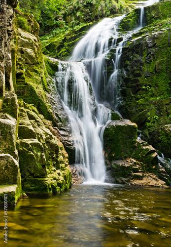 Naklejka na szybę Famous Kamienczyk waterfall, Poland