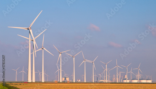 Aluminium Prints Mills Heaps of Wind Turbines