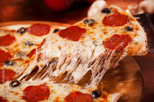 Hot Pizza #57849082