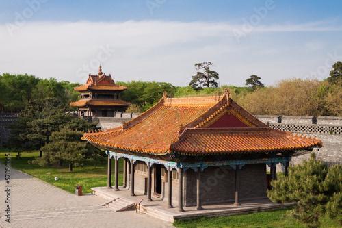 Chinese Palace Architecture Canvas-taulu