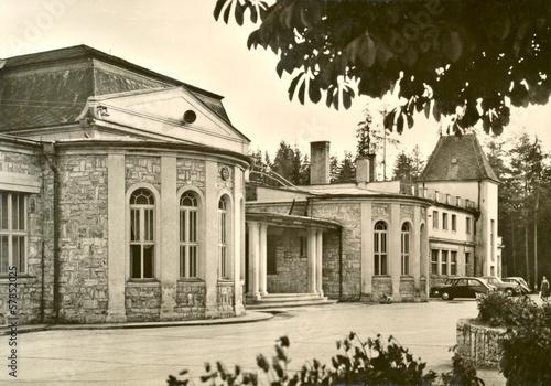 Spa complex - Vysne Ruzbachy, Czechoslovakia - circa 1950