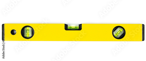 Cuadros en Lienzo Yellow spirit level.