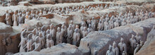 Terracotta Warriors In Xian, C...
