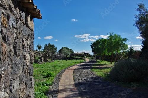 Fotografering Parco Archeologico - Adrano, Catania, Sicilia.
