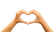 Heart Hands Symbol