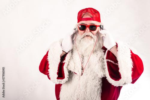 Vászonkép Babbo Natale divertente