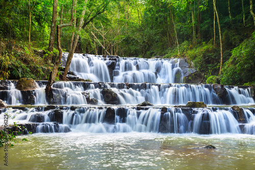 Waterfall in Namtok Samlan National Park, Saraburi, Thailand
