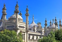 Ornate Onion Domes And Minarets Of Brighton Royal Pavillion