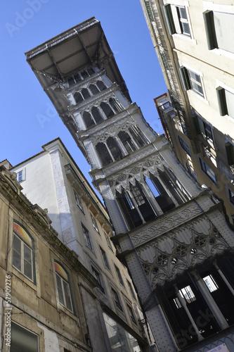 Photo  Lissabon Santa Justa